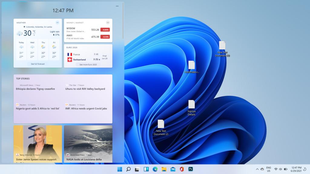 Windows 11 Desktop